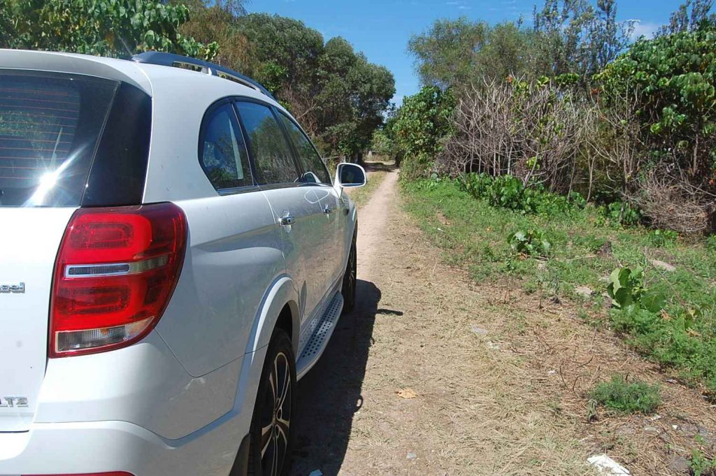 Holden Captiva On Track