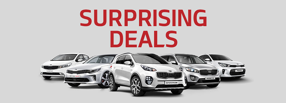 Kia April Surprising Deals